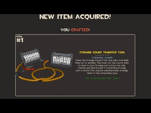 TF2 - Strange Count Transfer Tool