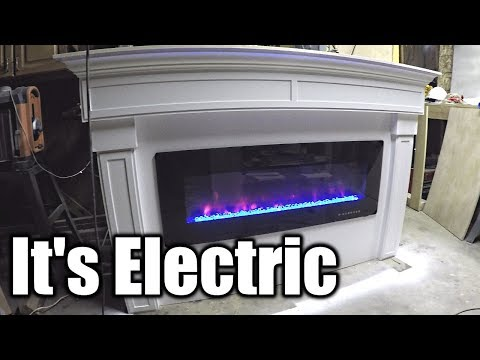 The Amazing Electric Fireplace | THE HANDYMAN | Pt 1