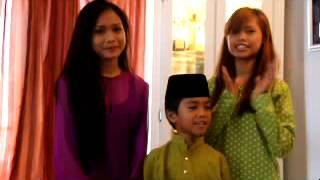 Bella Astillah, Didi Astillah, Wawan Astillah   Ucapan Raya 2012