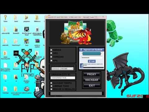 Dragon City Hack Tool v10.0 NOVA VERSÃO inédita! bonus de natal!
