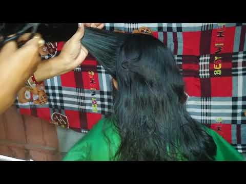 Hair cut   3 layer ..3 step.