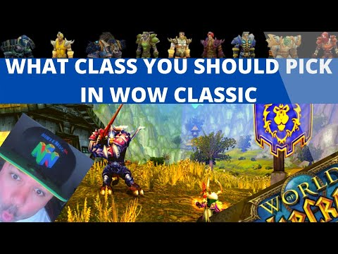 What Class SHOULD YOU play in WoW CLASSIC ?!