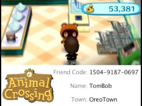 Animal Crossing: City Folk Friend Code