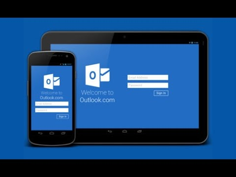 How to configure outlook on Mobile.