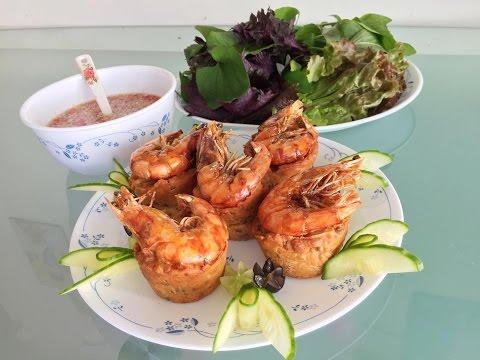 Bánh cống  | Vietnamese savory fried muffin