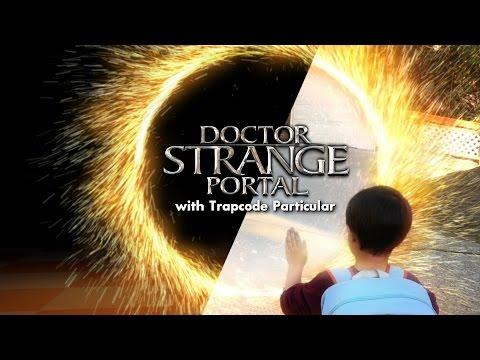 Create a DOCTOR STRANGE Portal (w/ Action Movie Kid)