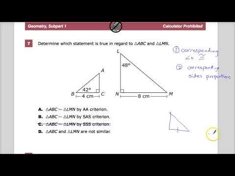 Question 7 -  Geometry -  TNReady Practice Test