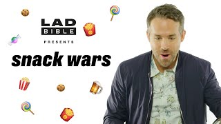 "Ryan Reynolds   ""I Have Five Seconds To Live Don't I?""   Snack Wars: UK V Canada"