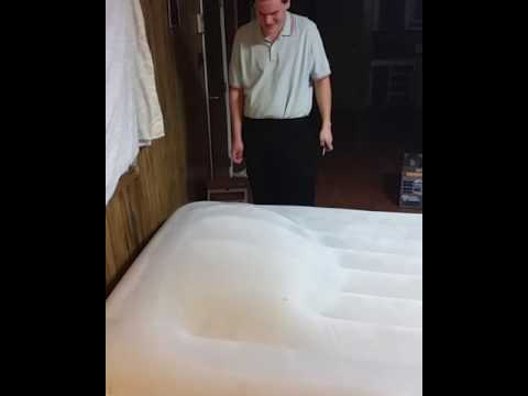 How to fix an air mattress!!