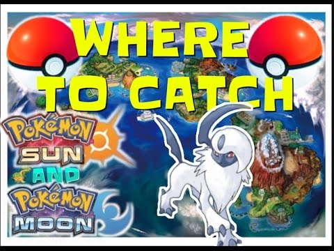 Where to catch/get absol in Pokémon sun and moon where to catch absol in sun and moon PKMN WTC sun!!
