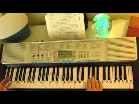How to Play ~ River Flows in You ~ Simplified Bass - Yiruma ~ LetterNotePlayer ©