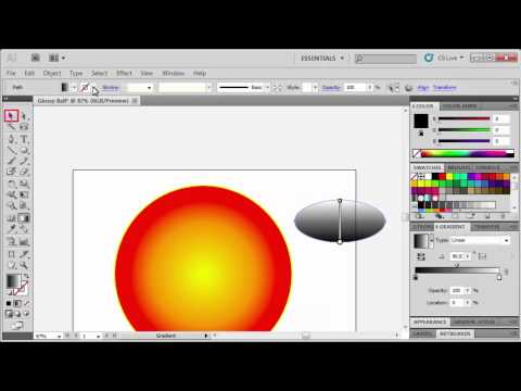 2.3 Adding a Gloss Effect: Adobe Illustrator CS5