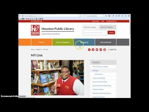 New HPL Library card instructions