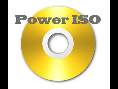 How to make a virtual CD and store files in it (with poweriso)