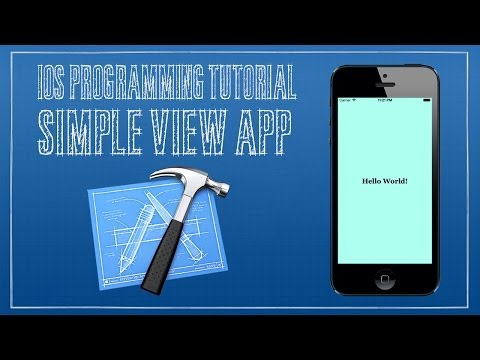iOS 7 Tutorial 1 - Simple View App