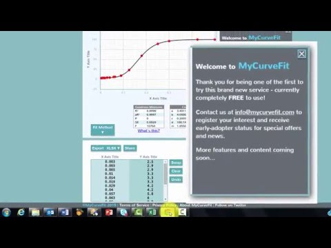 A New Great Tool for Curve Fitting
