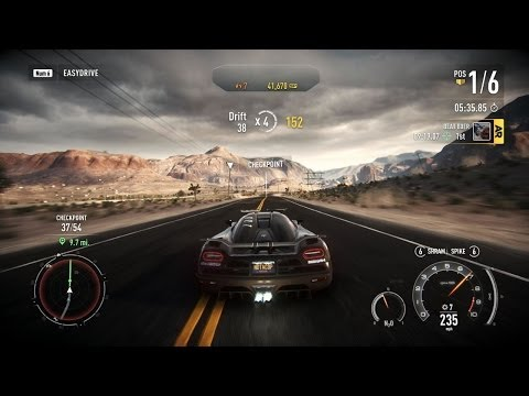 Need For Speed: Rivals - Grand Tour 8:34.59 - Koenigsegg Agera R