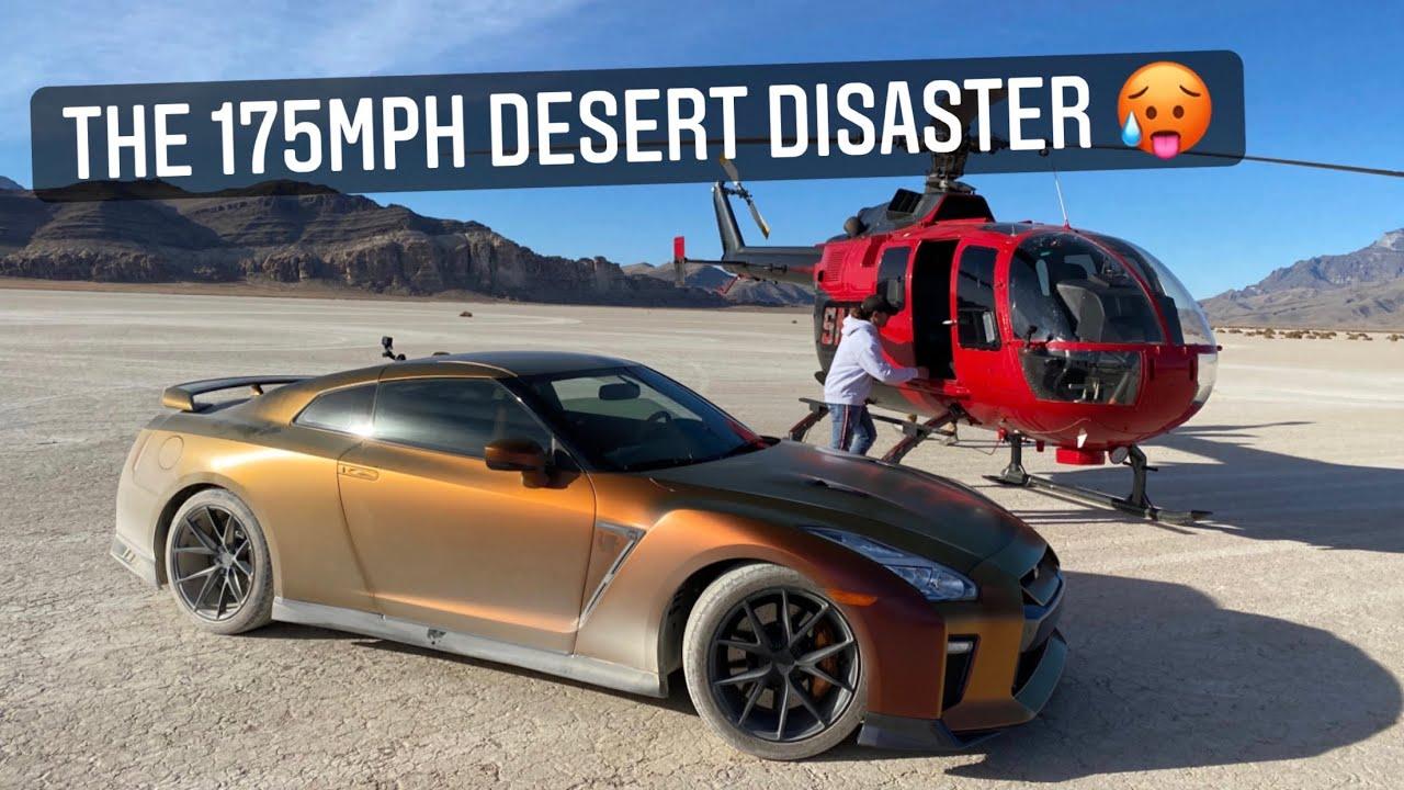 Top Speed Test - Nissan GTR r35