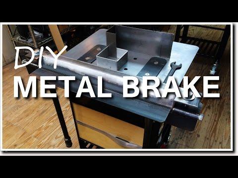 DIY Metal Brake for Bending Sheet Metal