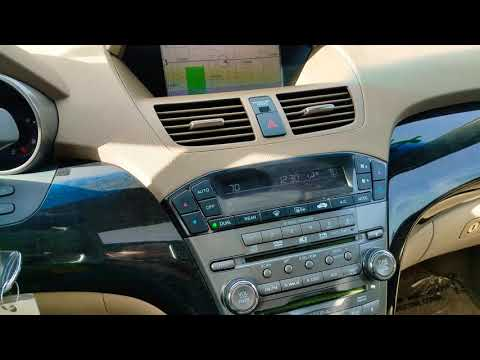 2007 Acura MDX Navigation Serial Number and Code.