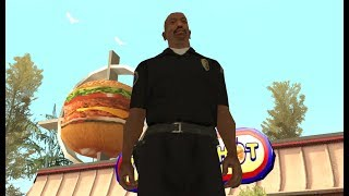 Officer Carl Johnson completes the mission  Madd Dogg's Rhymes - OG Loc mission 2 - GTA San Andreas