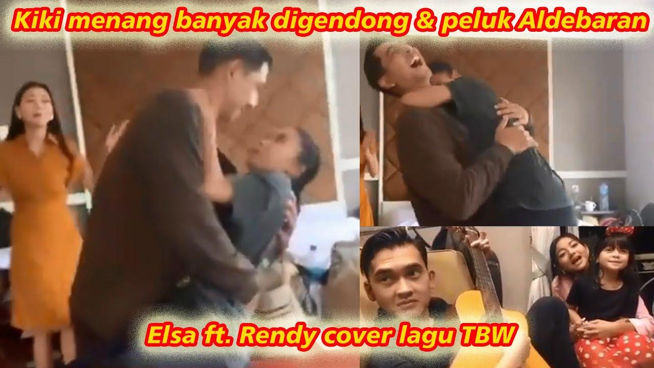 BTS Ikatan Cinta Aldebaran peluk & gendong Kiki, Elsa ft. Rendy cover lagu TBW