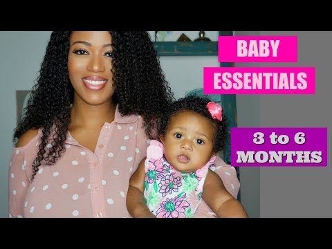 3 - 6 MONTH BABY MUST HAVES & ESSENTIALS (Teething, Tummy Time, Baby Monitor)