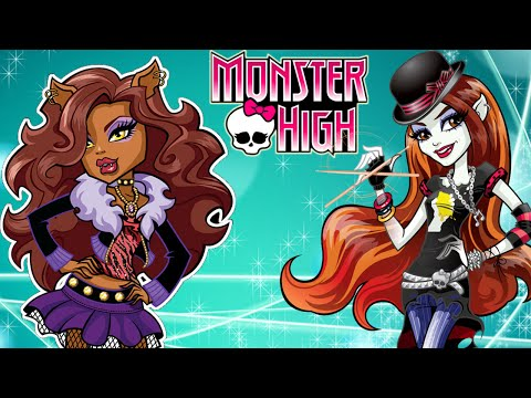 Monster High Full Movie Video Game - Make Your Own Monster High Boots (NEW Creative Game for Kids)