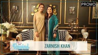 Zarnish Khan In Her First Candid Interview | Promo | Ishq Zahenaseeb | Rewind