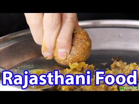Rajasthani Food - Dal Baati Thali in Jaipur