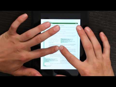 How to Make PDFs Larger on Kindle : Kindle 2
