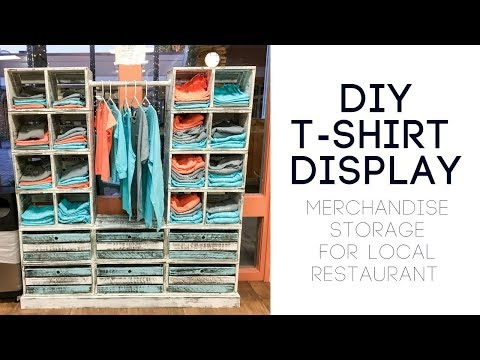 How to Build a Display for T-Shirts