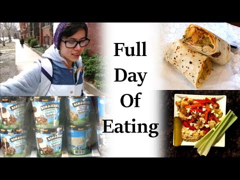 FULL DAY OF EATING #3 | Buying Food | Anorexia Recovery
