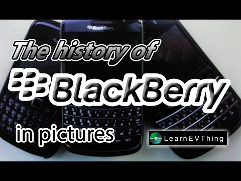 The history of BlackBerry phone in pictures | A look at BlackBerry's devices through the ages