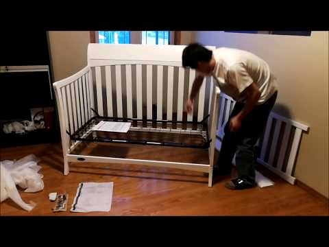 Assemble and Install Graco Rory Convertible Crib