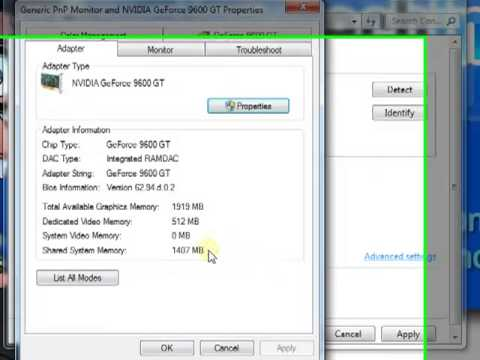 Windows 7, Change Screen Resolution and Refresh Rate