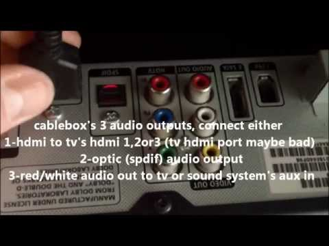 MOST COMMON FIXES FOR CABLE TV VIDEO / AUDIO SOUND PROBLEMS