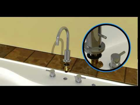 Bélanger H2flo®  Roman Bathtub Faucet Installation