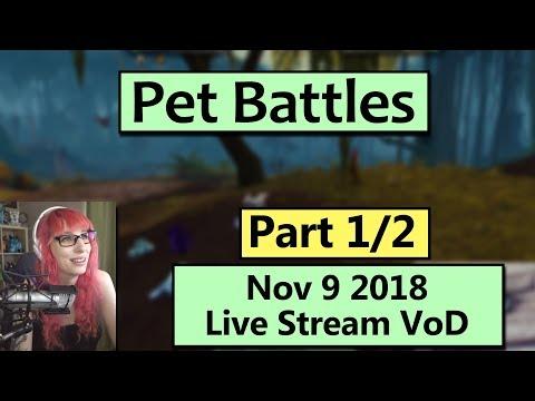 Pet Battles and Islands! November 9 Live Stream VoD Part 1