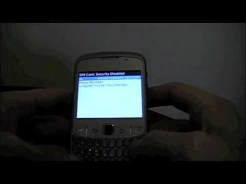 How to Unlock BlackBerry 8520 from Rogers Wireless using an unlock code from cellunlocker.net