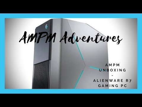 Is The Free Keyboard And Mouse Crap? - Alienware R7 Gaming PC - AMPM Unboxing