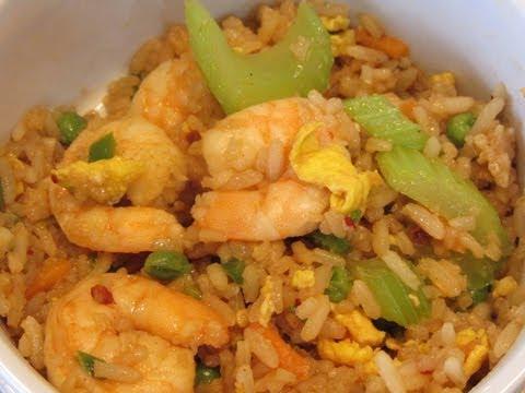How To Make Homemade Shrimp Fried Rice