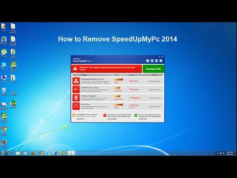 How To Remove SpeedUpMyPc 2014