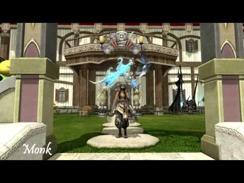 Final Fantasy XIV 3.2 All Jobs Battle Stance Emote