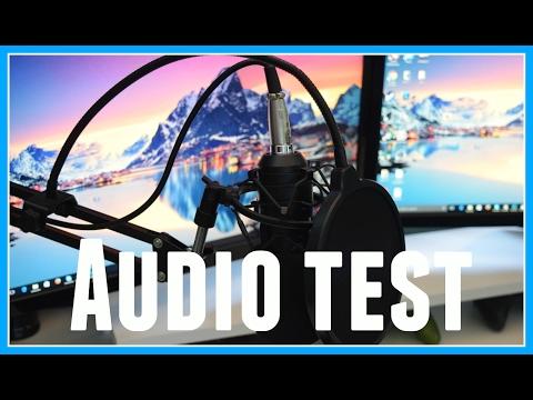 Neewer NW-700 Microphone Audio Test