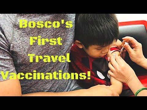 Getting Travel Vaccinations!