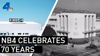 KNBC Celebrates 70 Years in the News Business | NBCLA