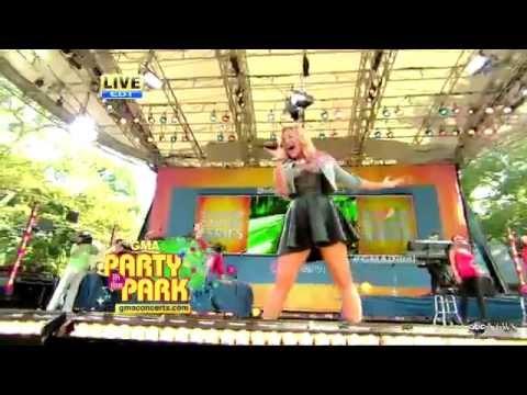 Demi Lovato - Unbroken GMA Live 2012 Good Morning America