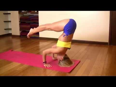 Tripod Headstand with Kino Yoga