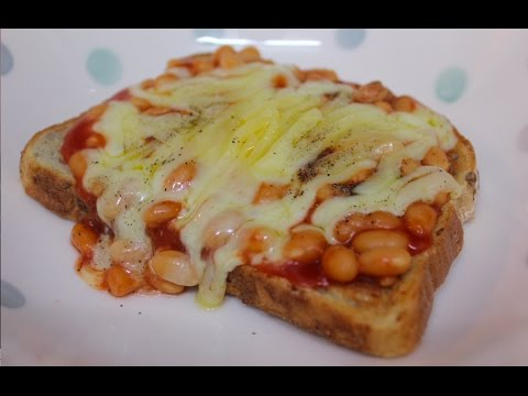 Baked beans & cheese on toast - quick & easy!